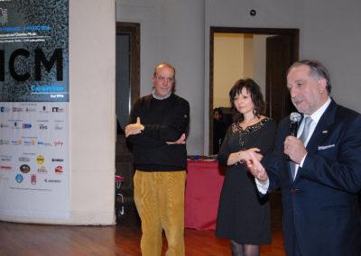 Giuria ICM Competition 2016 - Serata finale Conservatorio Giuseppe Verdi