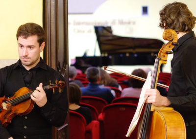 International Chamber Music Competition Città di Pinerolo e Torino Città Metropolitana - Foto Giorgio Vergnano