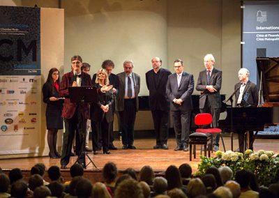 Giuria ICM Competition 2016 - Serata finale - Conservatorio Giuseppe Verdi di Torino