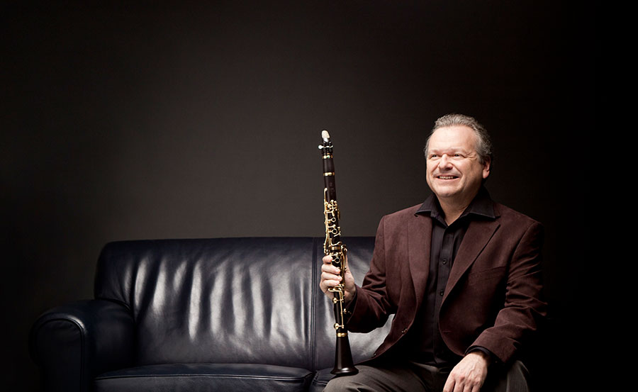 Michael Collins, clarinet, photo Ben Ealovega