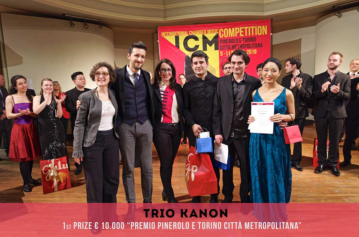 Trio Kanon International Chamber Music Competition Pinerolo e Torino Città metropolitana