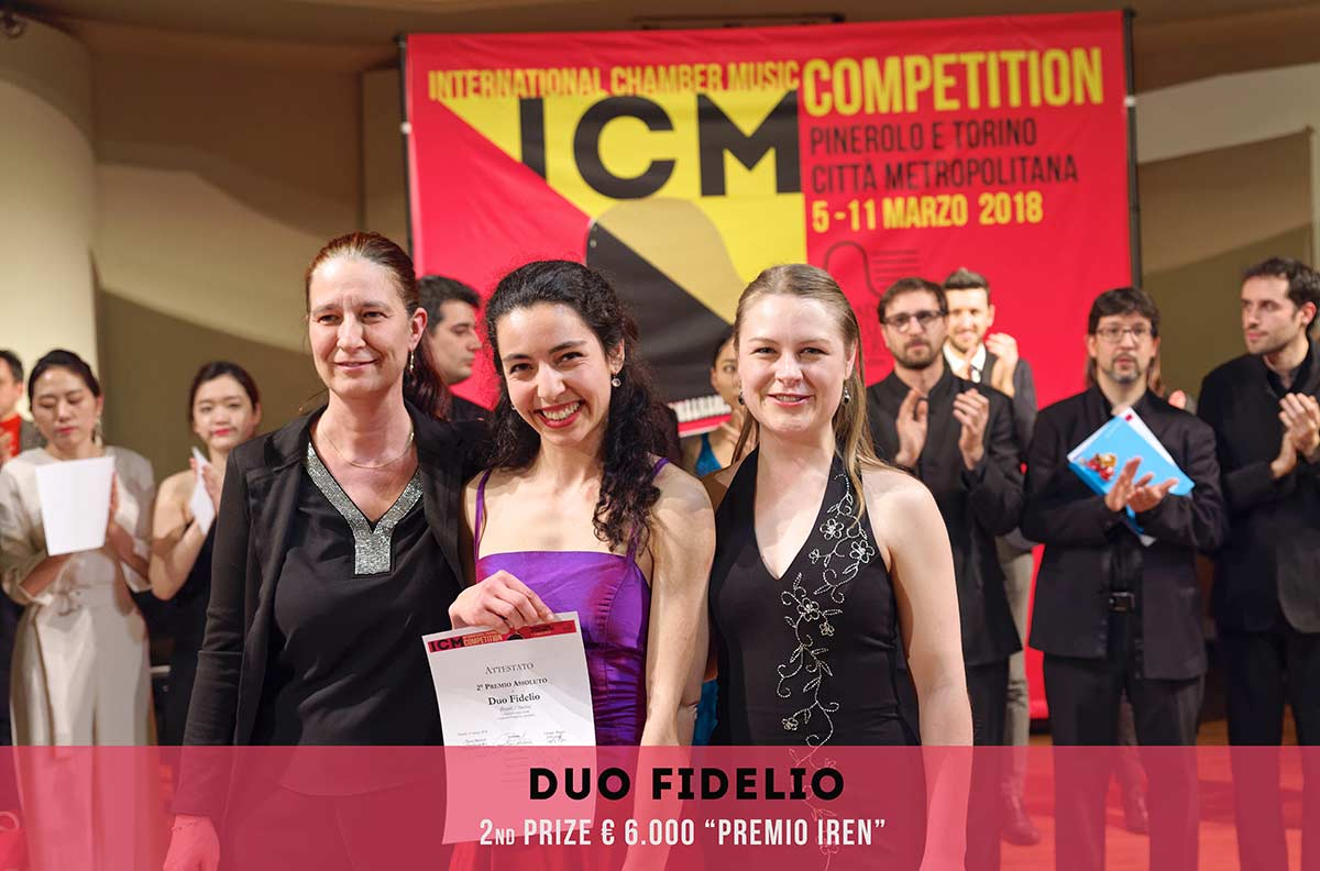 Duo Fidelio International Chambers Music Competition Pinerolo e Torino Città metropolitana