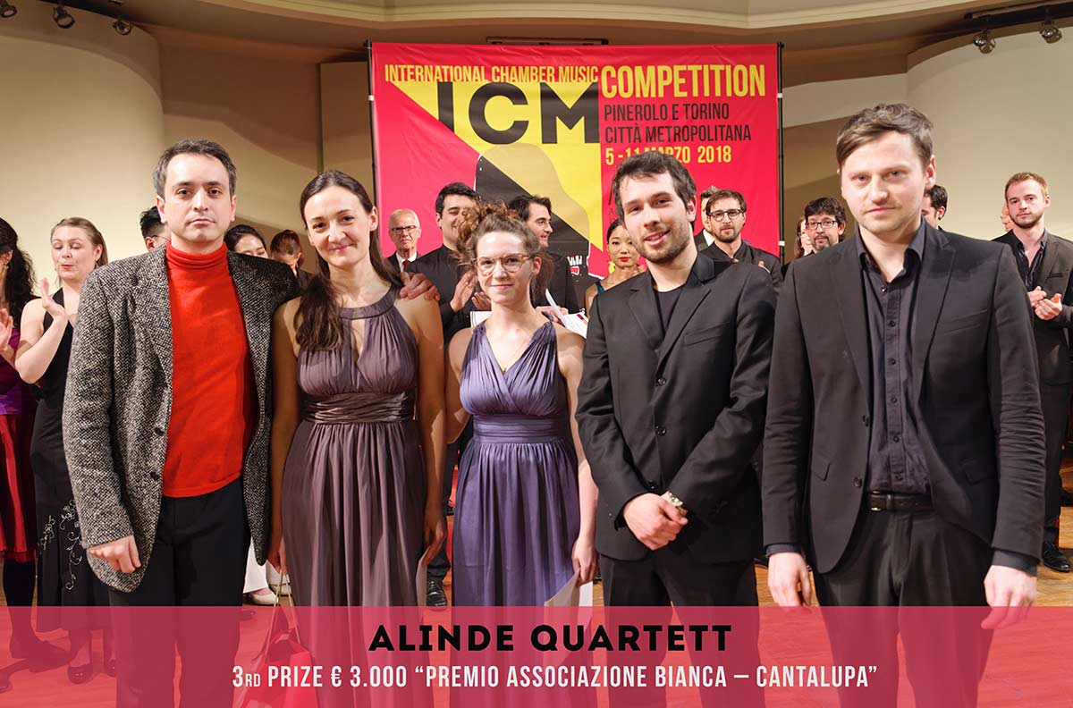 ALINDE QUARTETT International Chambers Music Competition Pinerolo e Torino Città metropolitana