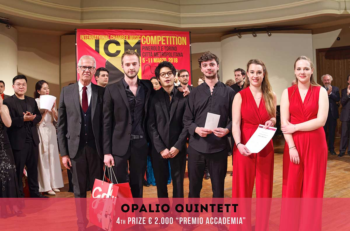OPALIO QUINTETT International Chambers Music Competition Pinerolo e Torino Città metropolitana