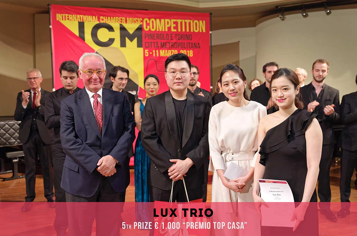 LUX TRIO International Chambers Music Competition Pinerolo e Torino Città metropolitana