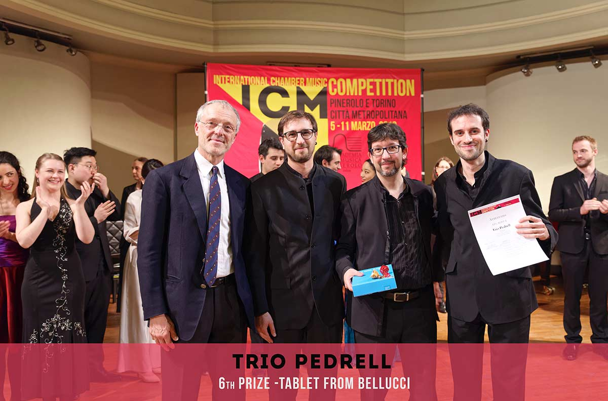 TRIO PEDREL International Chambers Music Competition Pinerolo e Torino Città metropolitana